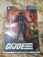 Hasbro G.I. Joe Classified Series Cobra Commander Action Figure Free Shipping