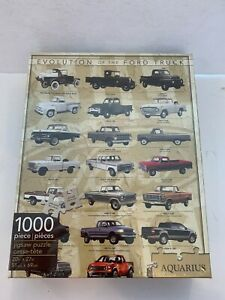 New Evolution of the Ford Truck 1000 Piece Jigsaw Puzzle