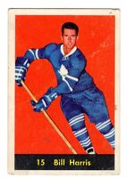 1X BILL BILLY HARRIS 1960 61 Parkhurst #15 VGEX Toronto Maple Leafs