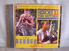 Heroes/ Heroes II-The Return- TV-Soundtrack Peter Best- SILVA SCREEN 1991- NEU