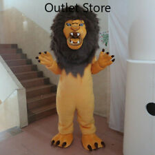 Halloween Cartoon Fur Lion Cosplay Mascot Costume Party Xmas Outfit Carnival