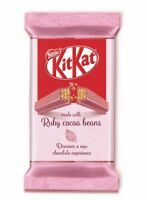 KITKAT Ruby Cocoa Beans Chocolate Bar 41.5g / 1.46oz