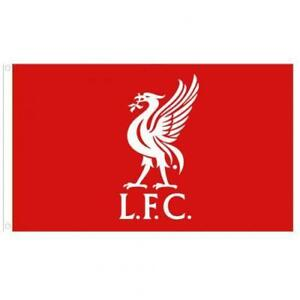 Liverpool FC Official Flag Large (5ft x 3ft) Present Gift With Metal Eyelets NEW