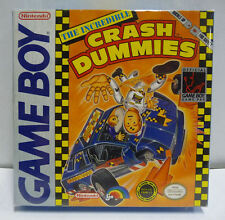 THE INCREDIBLE CRASH DUMMIES - NINTENDO GAME BOY GB BOXED RARE