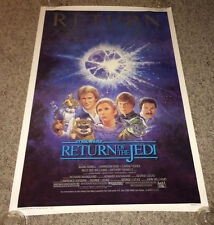 RETURN OF THE JEDI Original 1sh Movie Poster 1983 STAR WARS Rolled R85