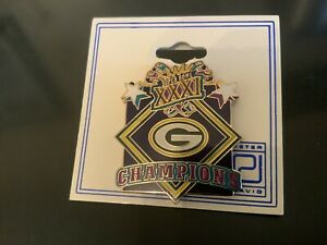 Super Bowl XXXI champions NFL Green Bay Packers Collectible Pin!*