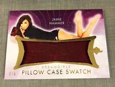 2017 Benchwarmer JAIME HAMMER Dreamgirls PILLOW CASE Swatch/3 PLAYBOY Penthouse