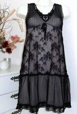 Vive maria Dress Lace Tulle Chiffon Classy Black Dress Romance