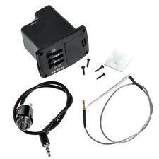Guitar Spiral Piezo Cable Pickup EQ Equalizer and Preamp AMP for Ukulele Ukelele
