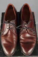 Vtg Men's 1950s Weyenberg Massagic Dress Shoes sz 9 50s Brown Leather #7595s