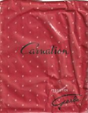 Bas couture GERBE CARNATION 15 coloris Noir Taille 1 - 8½. Seamed stockings.
