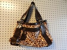 ALDO handbag - brown animal print