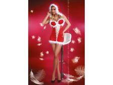 LivCo Corsetti Christmas Snow Baby Rot S/XL Dessous Weihnachtskostüm Xmas Damen