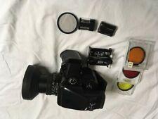 Mamiya 645 Pro Tl Medium Format Slr Film Camera with 55 mm lens Kit & More!
