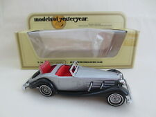 Matchbox 1978 Y20 Models of Yesteryear Mercedes-Benz 540K MIB 1:45 Scale