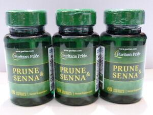 Sealed Prune and Senna 180 soft gels