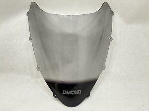 """Ducati 848 1098 1198 """"DUCATI"""" Windscreen Windshield Wind Screen Shield"""