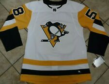 CHRIS LETANG AUTHENTIC PITTSBURGH PENGUINS JERSEY ADIDAS AUTHENTIC SIZE 46