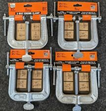 NEW PONY USA made 4pc 3-WAY Edgeing CLAMPS H19