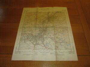 LANCASHIRE Map - Sheet SD 83 - 1954 Ordnance Survey Map