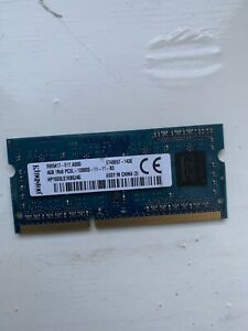 DDR3 PC3 12800S 8GB (2x4GB) Laptop  Samsung Kingston Elpida Hynix  Micron RAM