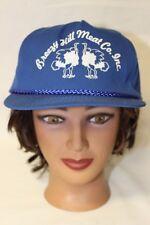 Breezy Hill Meat Company Inc Ostrich Baseball Trucker Cap Hat Adjustable