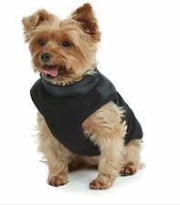 Bee & Willow Home Fleece Winter Apparel Medium Dog Vest Jacket in Black