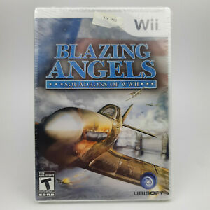 Blazing Angels: Squadrons of WWII (Nintendo Wii) New in Wrap !!