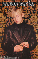 POSTER : MUSIC : AARON CARTER - LEATHER JACKET    FREE SHIPPING !  #9049   LC6 F