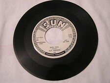 Roy Orbison Sun  Promo 45-DEVIL DOLL/SWEET AND EASY TO LOVE   REISSUE   RARE