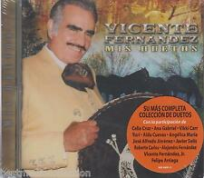 Vicente Fernandez CD NEW Su Mas Completo ALBUM De Coleccion De Duetos SEALED