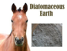 Natural HORSE FOOD SUPPLIMENT WORMER & MITE KILLER 1KG Bag DIATOMACEOUS EARTH