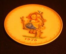 "Hummel Goebel Sixth Annual Plate in Bas Relief 1976 ""Spring"" Hum269 MIB"