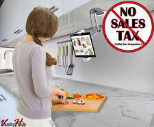 "Kitchen Mount Under Cabinet Wall Stand Rack Holder Tablet iPad Pro Air 7-13"" NEW"