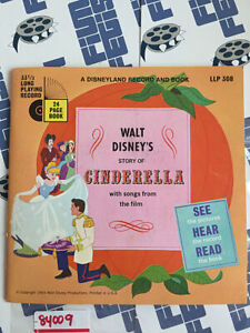 Walt Disney's Story of Cinderella Songs from the Film Book & Record (1965) 84009