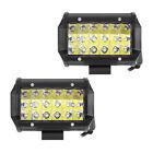 2x 5inch 54W Cree LED Work Light Bar Spot Flood Offroad Car Driving Lamp 18LED