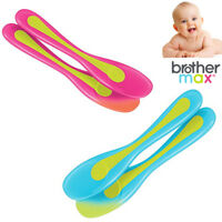 Baby Feeding Spoons Travel Brother Max BPA Free Heat Sensitive Weaning Months 4+
