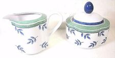 Villeroy & Boch Switch 3 Sugar and Creamer Set Porcelain Germany