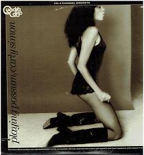 CARLY SIMON - Playing Possum - Original 1975 US 10-track Quadraphonic vinyl LP
