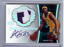 J.R. Smith 2005-06 UD Exquisite Noble Nameplates Patch/Auto Hornets #NN-JR 10/25