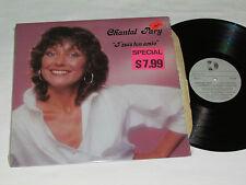 CHANTAL PARY J'Suis ton Amie LP 1981 Kebec-Disc Records Quebec French Vinyl VG+