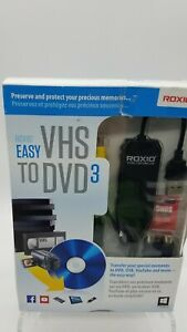 ROXIO Easy VHS to DVD 3 - Convert Old Home Movies, VHS, Tapes To DVD Digital