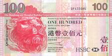 Hong Kong HK & Shanghai Banking Co P-209 100 dollars 2003 UNC