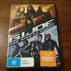 G.I Joe The Rise of the Cobra DVD R4 Like New! FREE POST