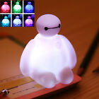 Big Hero 6 Baymax Doll 7 Colors Changing Night Light Lamp Kids Children Baby Toy