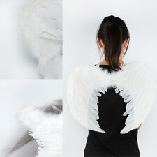 Adults Kids Feather Wings Angel Fairy Fancy Dress Costume Christmas Party Favor
