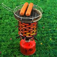 Stainless Steel Portable Mini Camping Warmer Heater Cap Outdoor Gas Stove Cover