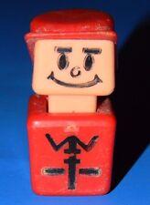 Vintage Playskool Familiar Places Play Friends Rescue Center Fire Man