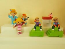 "Six Jollibee figure 4"" tall premium toys smile and make their own music"