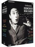 Macario Erminio Collection (Box 4 Dvd), nuovo sigillato